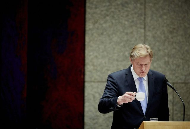 Staatssecretaris Van Rijn (archieffoto NRC)